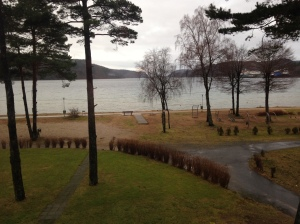Der Ausblick aus unserer Hotelsuite