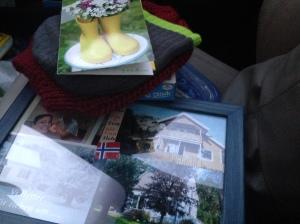 Meine liebe Mama vergisst es nie: Ein Glueckwunsch Paket kam ein paar Tage spaeter bei uns an <3
